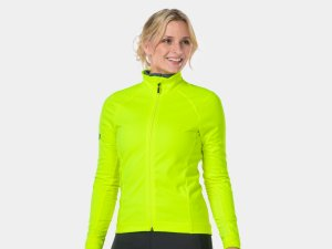 Bontrager Jacket Velocis Softshell Women L RadioactiveYellow